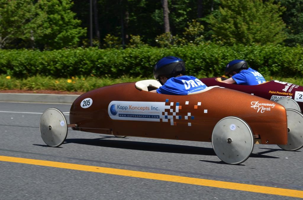 kapp koncepts car finish line